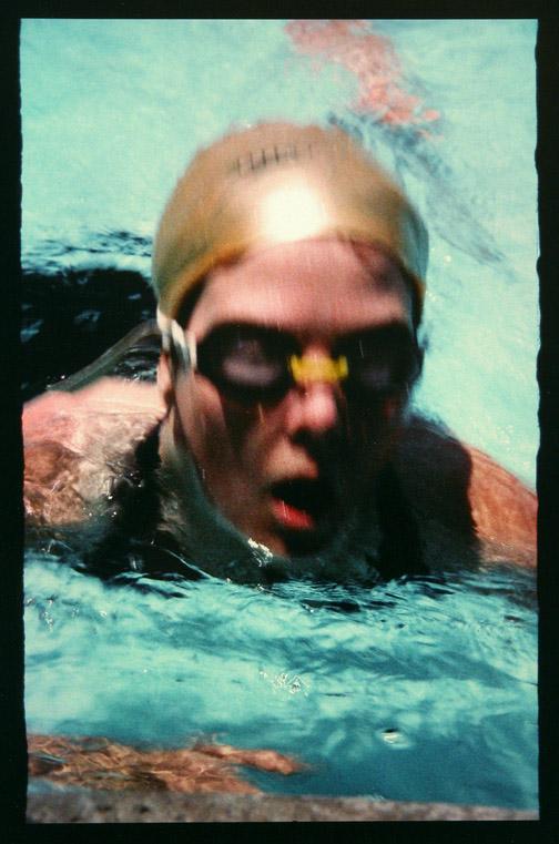 Clara Swimming