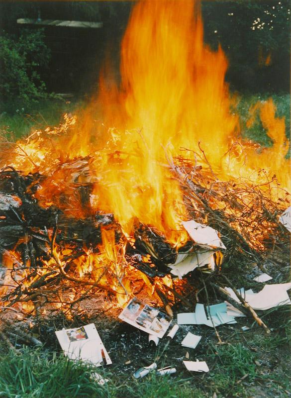 Fall Burn Bonny Doon