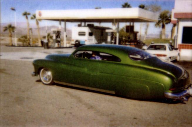 Green Car In Mojave, '00