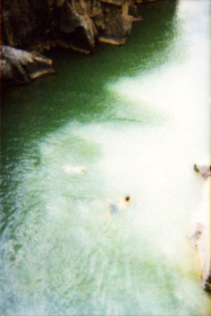 Man and Dog At Bridge, 2001