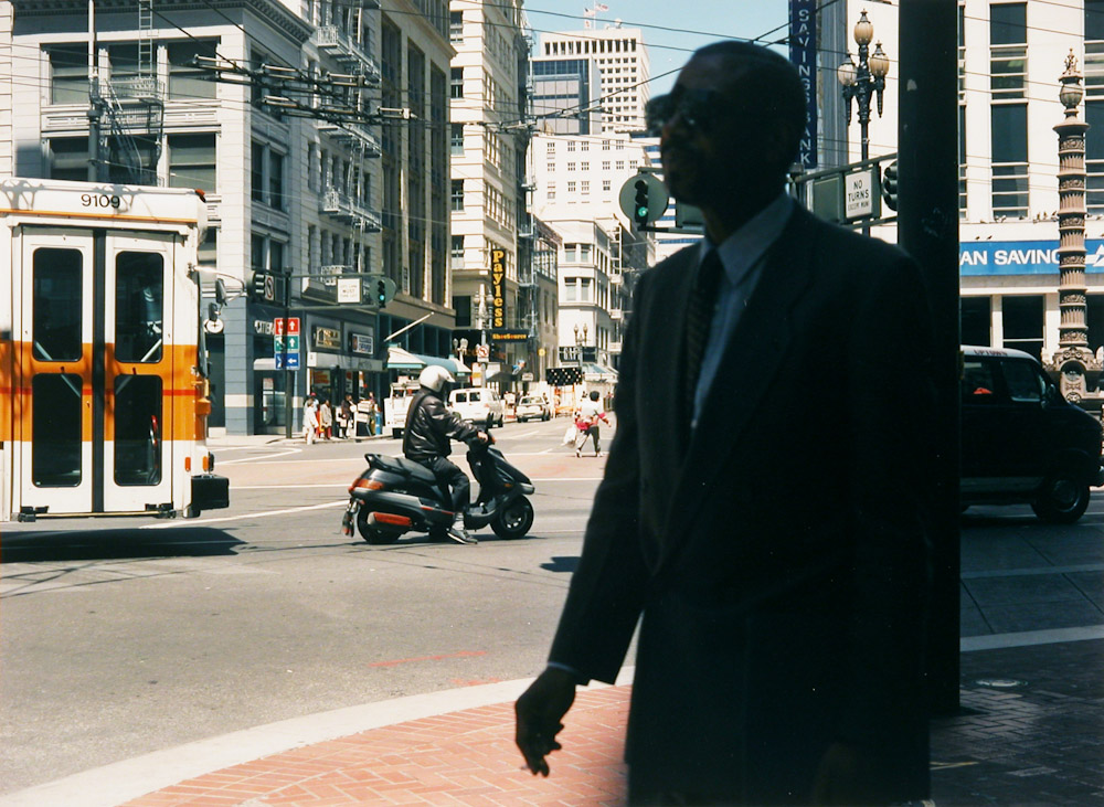 Man on Market Street