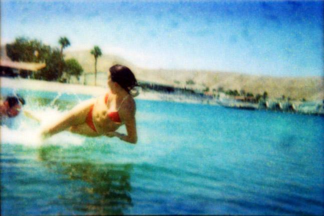 Mojave Lake Flying Figure