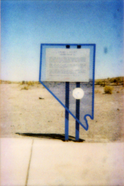Nevada State Sign, '00