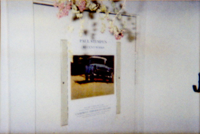 Painting Poster, '00