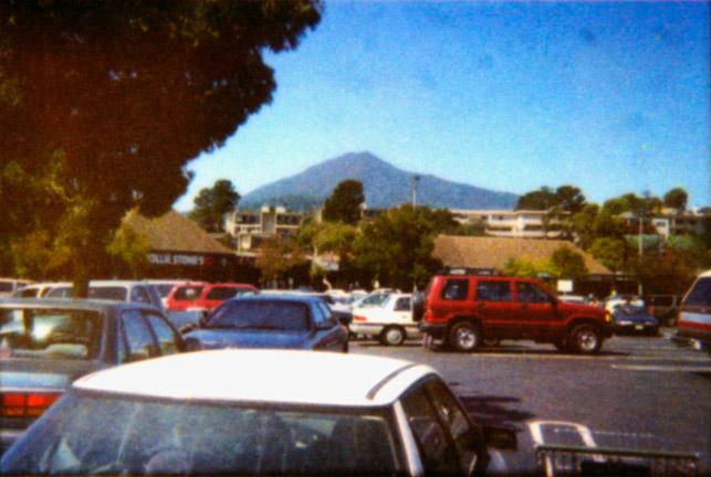 Parking Lot, Mt Tam, 2003