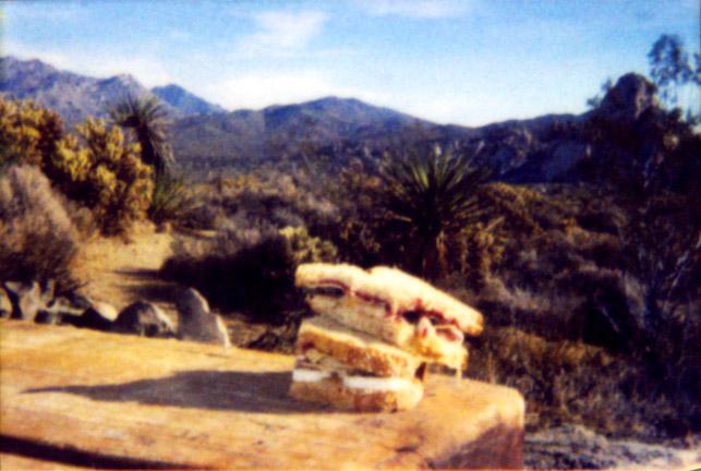 Peanut Butter Sandwich Mojave, 2003
