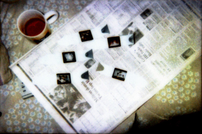 Pictures And Newspaper