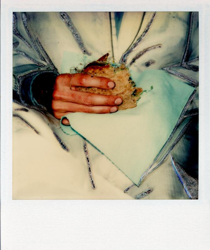 Robert with Sandwich