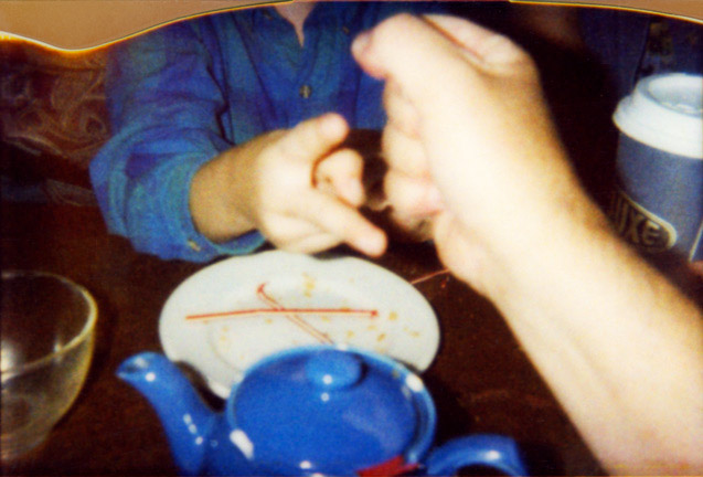 Rock Paper Scissors Tea Lux, 2003