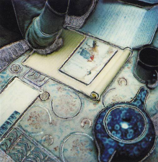 Tea and Postcard