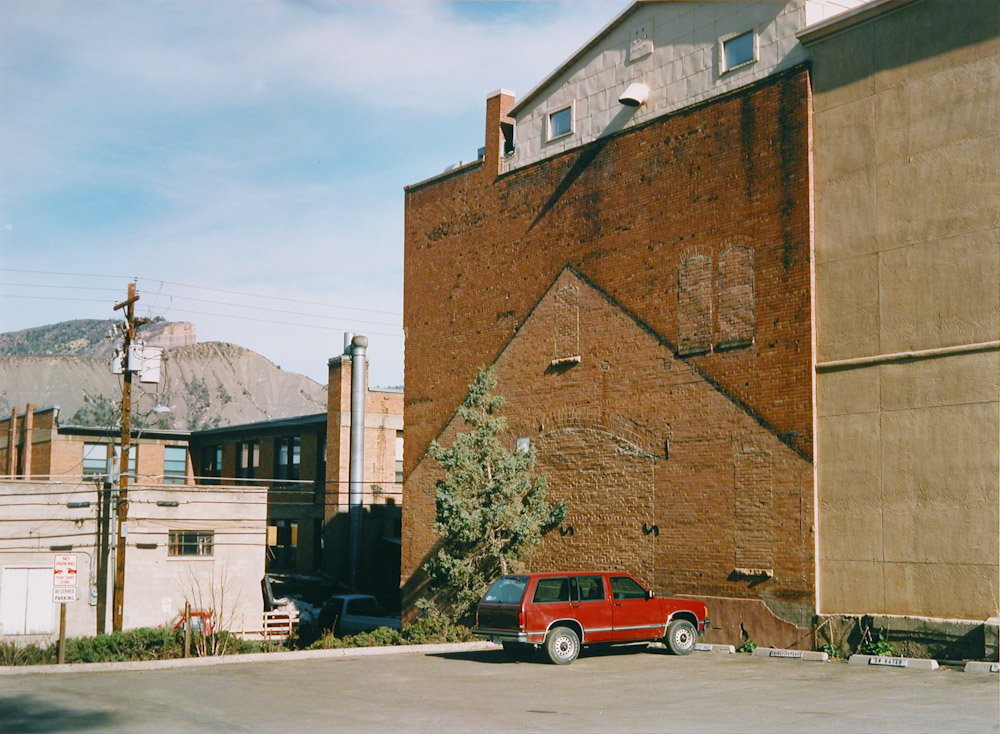 Wall and Car, Durango